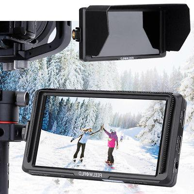 Feelword Inch IPS Full Monitor Monitor DSLR Cameras