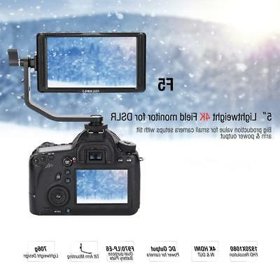 Feelword HDMI 5 IPS Screen Monitor Camera DSLR