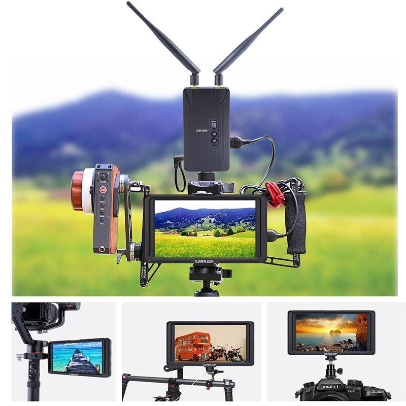 FEELWORLD F5 4K <font><b>HDMI</b></font> <font><b>DSLR</b></font> Field Monitor DJI crane