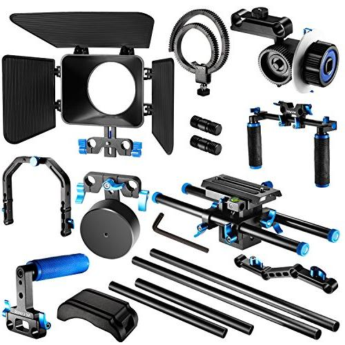 Neewer Making Kit with F100 7-inch Screen Monitor and 11.8inch Alloy Articulating Magic for Canon Nikon Sony DSLR Video Camcorders
