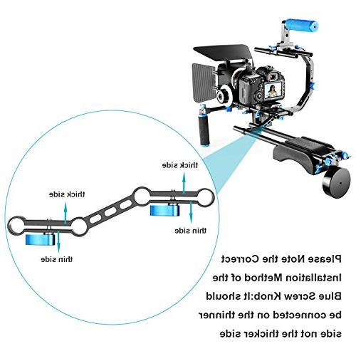 Neewer Making Kit F100 Screen Field and 11.8inch Magic Arm Canon Video Camcorders