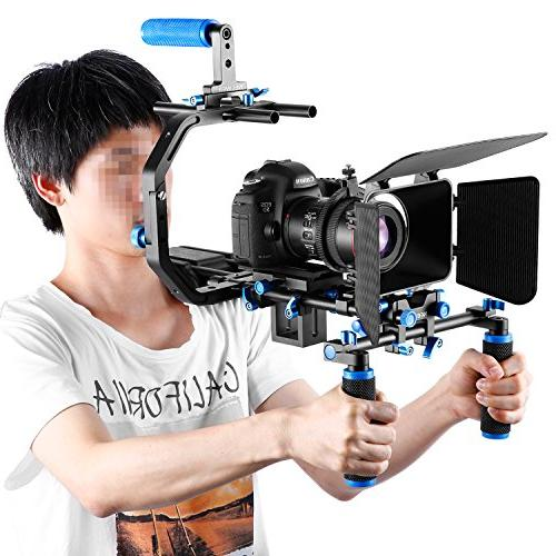 Neewer Film Movie Video Making System F100 7-inch 1280x800 Screen 11.8inch Alloy Magic Arm for Canon Nikon Sony Video