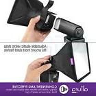Flash Diffuser Light Softbox Collapsible Portable Speedlight