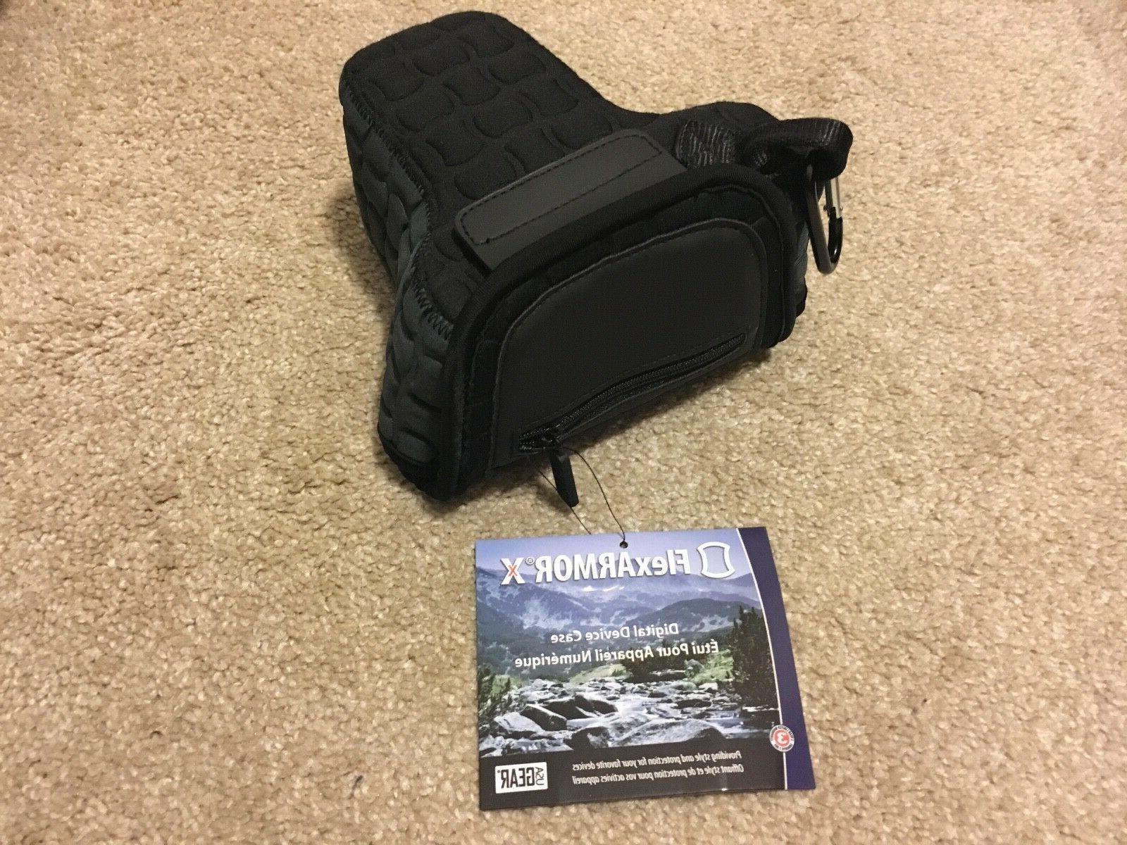 flexarmor x dslr camera case holster sleeve