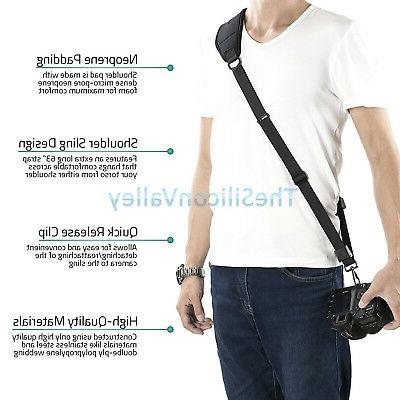 Universal Quick Shoulder Strap For SLR