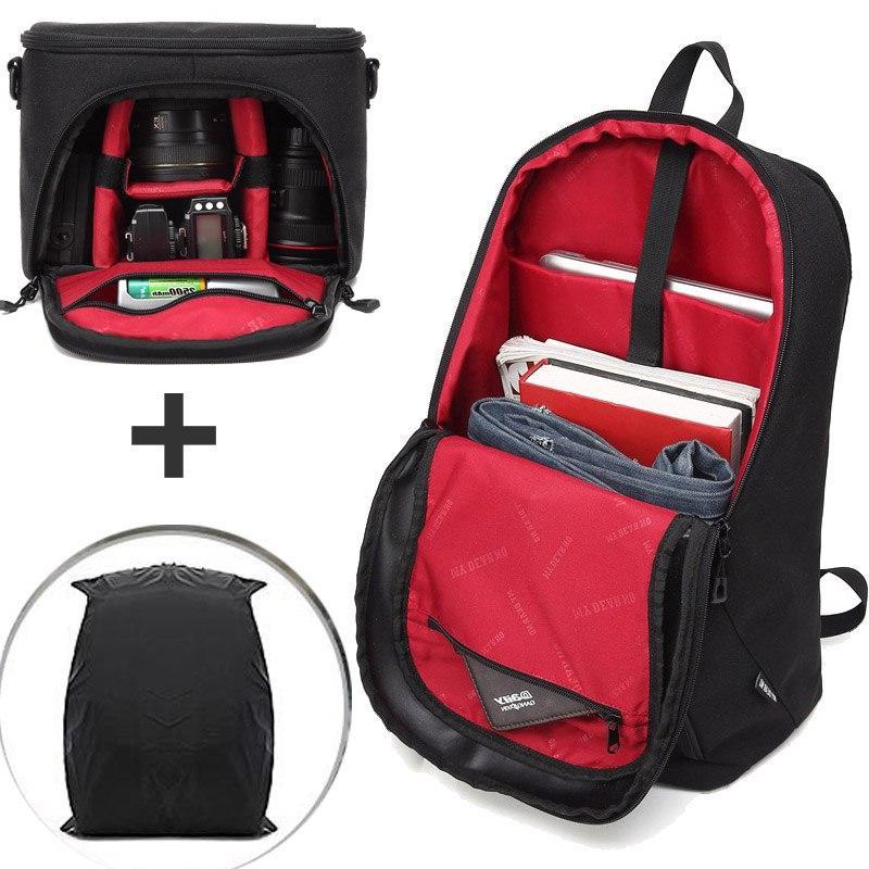 <font><b>Camera</b></font> Backpack Waterproof <font><b>Ligh