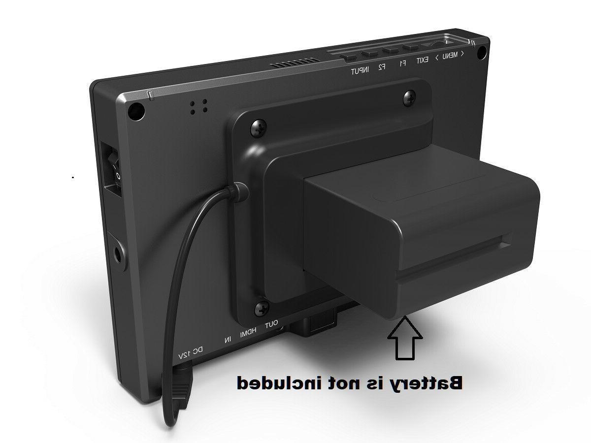 "Lilliput 7"" Broadcast HDMI 3G-SDI Camcorder DSLR"