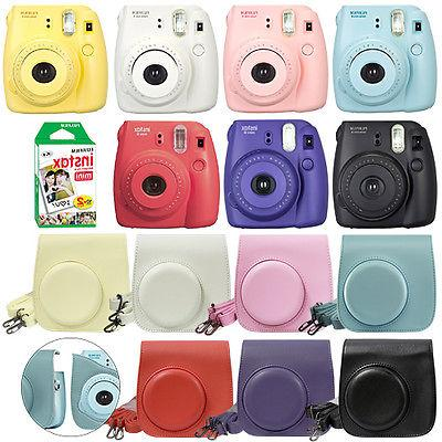 Fuji Instax Mini 8 Fujifilm Instant Film Camera All Colors+
