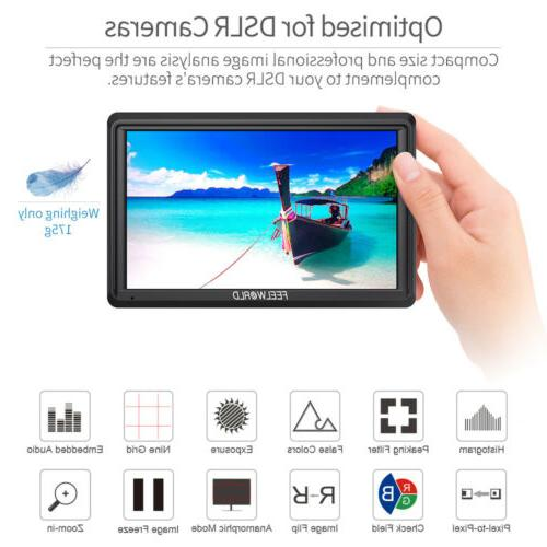 "FEELWORLD FW568 5.5"" IPS Camera DSLR Monitor Sunshade"