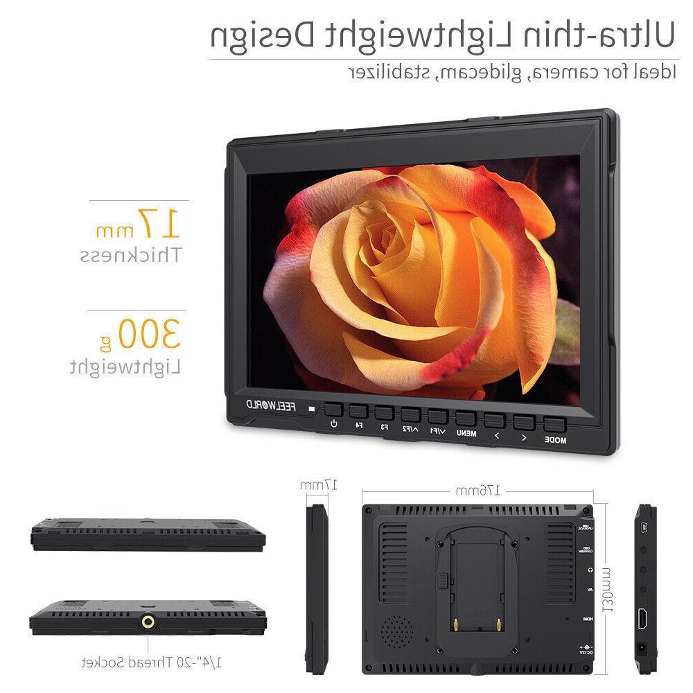 FEELWORLD FW759 LCD IPS HDMI Assist