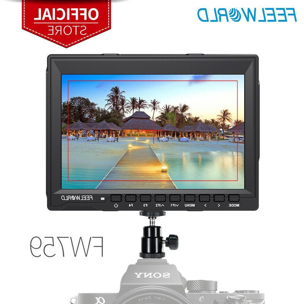 fw759 7 inch dslr camera field monitor