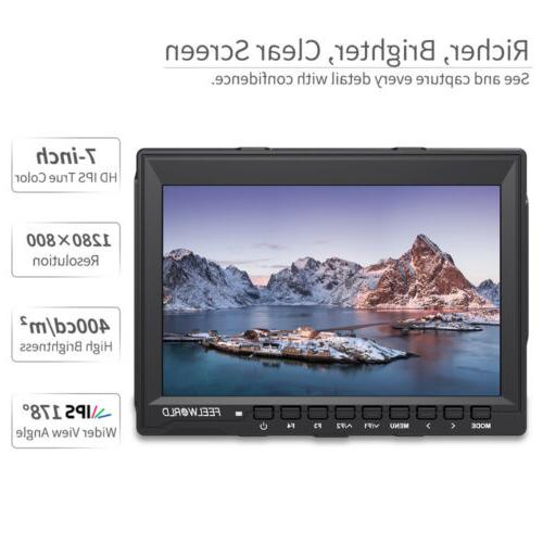 """FEELWORLD 7"""" IPS Camera Field with"""