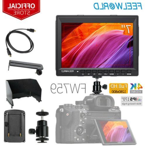 fw759 7 ips camera field video monitor