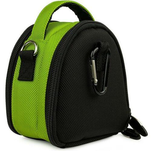 Green Small SLR Camera Shoulder Bag for RX100