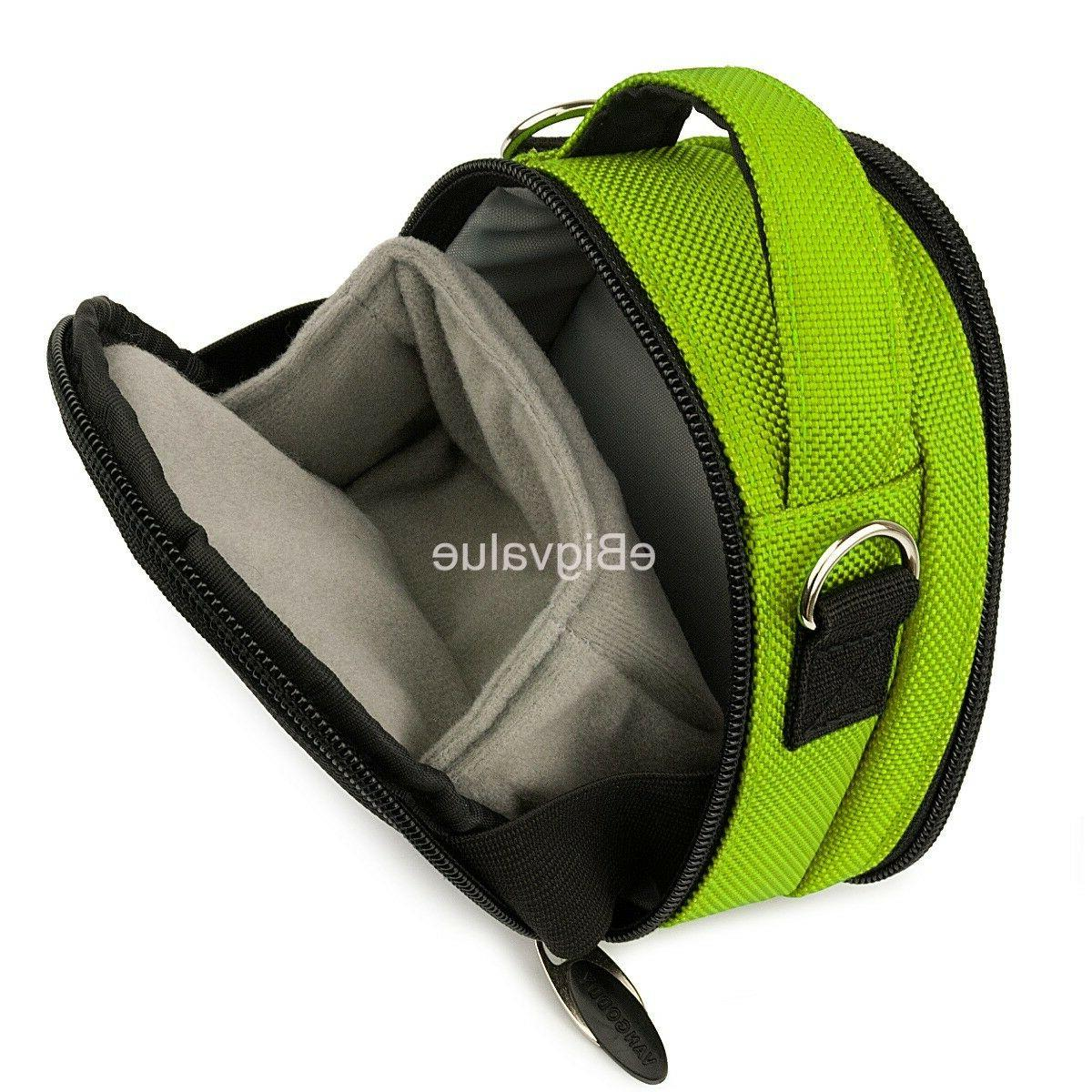 Green SLR Compact Camera Bag for Sony HX99 RX100 RX0