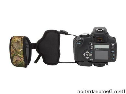 Professional Grip Strap with Camouflage Woods