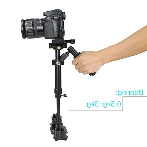 Koolertron Handheld Steadicam Version for Camera Video DV DSLR with Quick Release