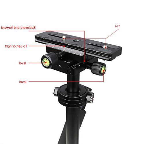 Koolertron S40 Handheld Stabilizer Steadicam Camera DV DSLR Nikon Canon, with Release