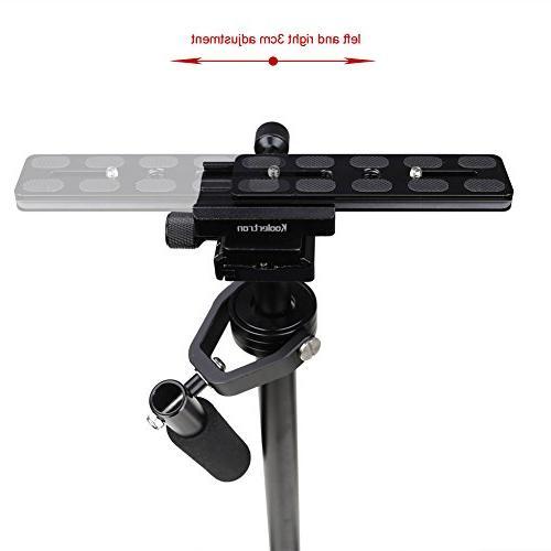 Koolertron Steadicam Camera DV Nikon Canon, with Quick