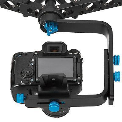 Handheld Gimbal Canon Nikon For DSLR