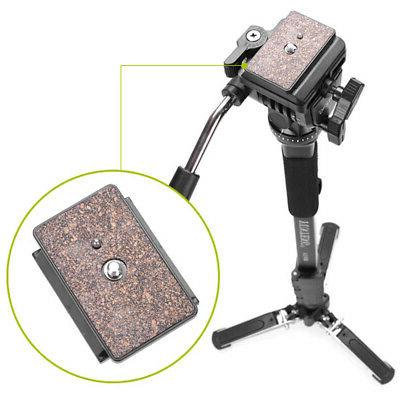 Heavy Duty Camera Tripod Stand with Fluid Pan Unipod D2J4