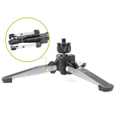 Heavy Camera Tripod Monopod Fluid Pan Head Unipod