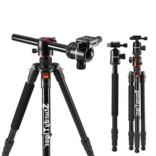 horizontal arm monopod portable stand
