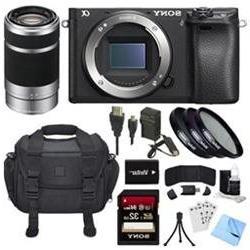 Sony ILCE-6300 a6300 4K Mirrorless Camera Body w/ 55-210mm Z