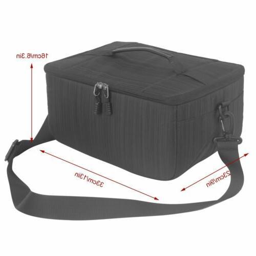 Koolertron Camera Insert Bag Purse Pouch