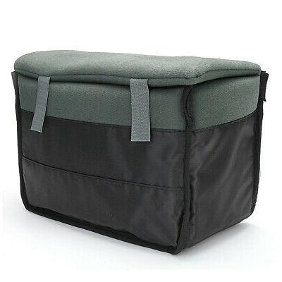 Insert Padded Camera Bag DSLR Partition Protect