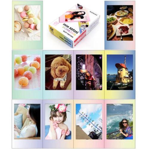 Fujifilm Instax Mini Fuji Instant 8 Papers For Polaroid 300 Camera