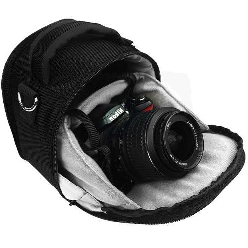 Vangoddy VGLaurelBLK DSLR Camera Case Shoulder Strap