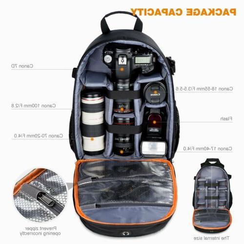 Women's Camera Bag Insert Backpack Sony