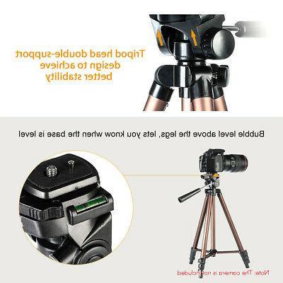K&F CONCEPT Professional Tripod Canon Camera