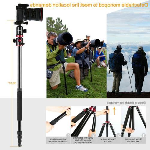 Camera Tripod Monopod Concept