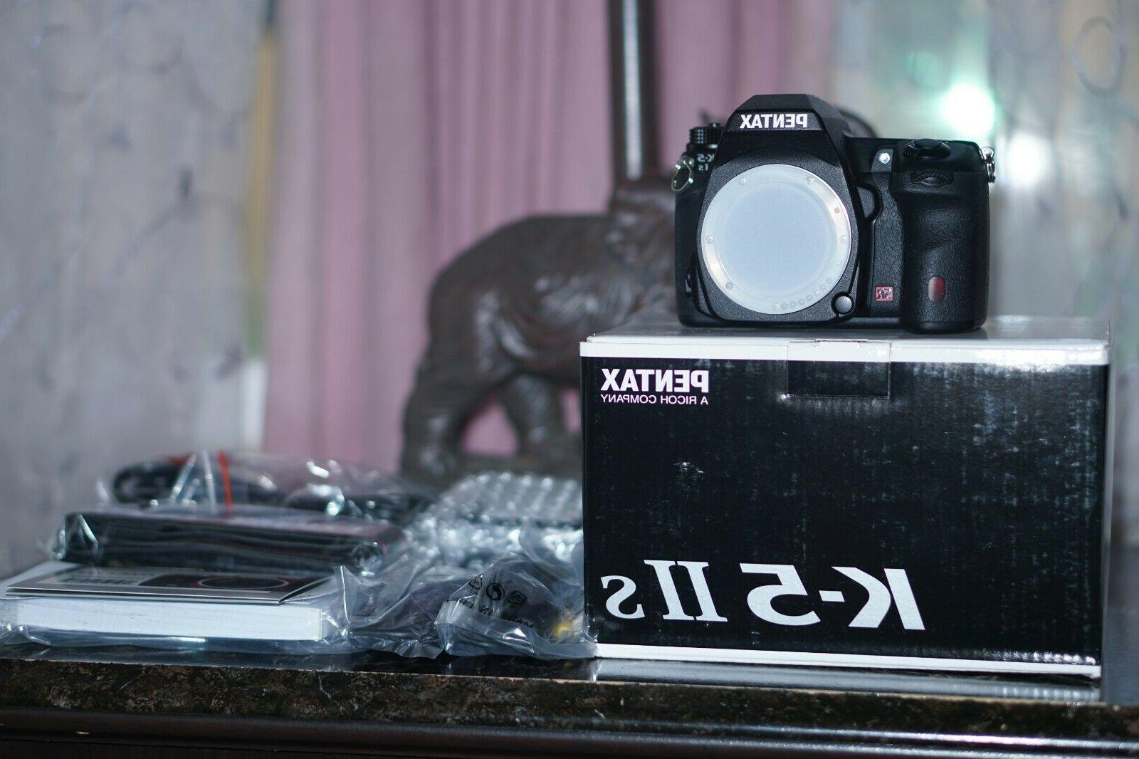 PENTAX K IIs SLR Camera - Black