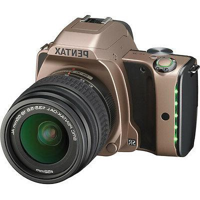 Pentax K-S1 DSLR Camera w/18-55mm Lens - Dusk Gold