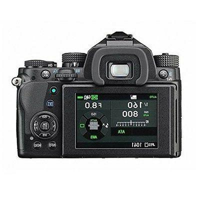 Pentax KP Camera Body 18-55mm f/3.5-5.6 Zoom Lens Sling Bag Strap
