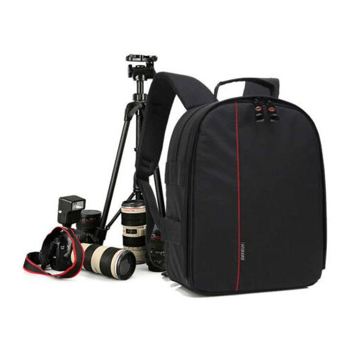 Digital Camera Waterproof Backpack Shoulder for