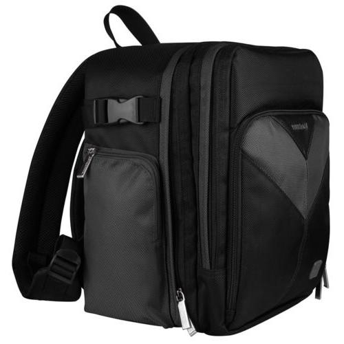 VanGoddy Large DSLR Backpack Case