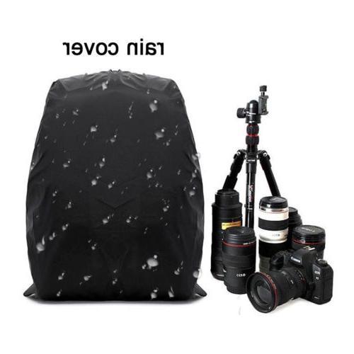 Large Waterproof DSLR Camera Backpack Shoulder Case For