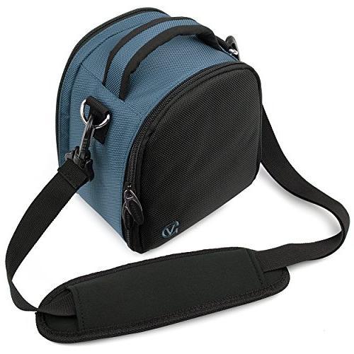 VanGoddy Laurel Blue Carrying Case Bag Nikon Z6 D Series, Series, to SLR &