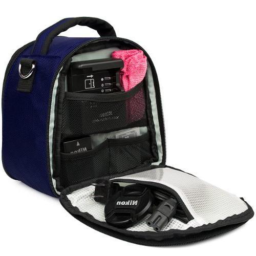 Laurel DSLR Handbag for Compact Blue