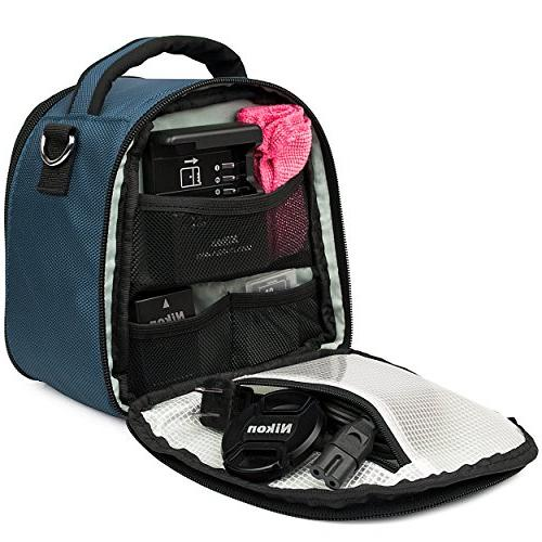 VanGoddy Blue Carrying Nikon Z6 Series, DL Series, to &