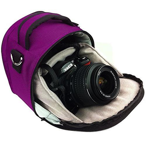 VanGoddy Plum Carrying Case Bag for Kodak