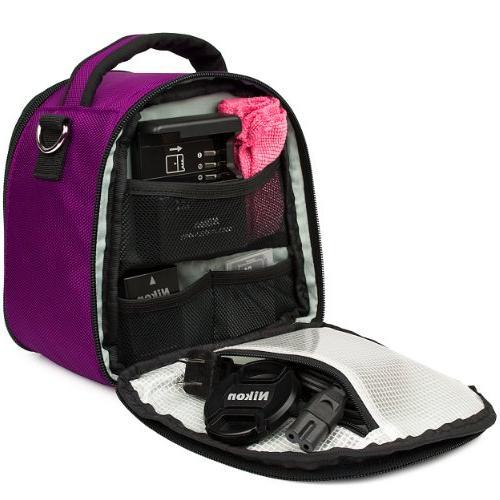 VanGoddy Plum Carrying Bag Kodak PixPro Astro Zoom/Compact