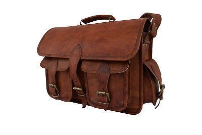 Leather DSLR Messenger Briefcase Sony SLR Satchel
