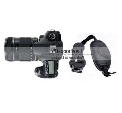 New Camera Leather Wrist Strap SLR Canon Nikon Sony Olympus
