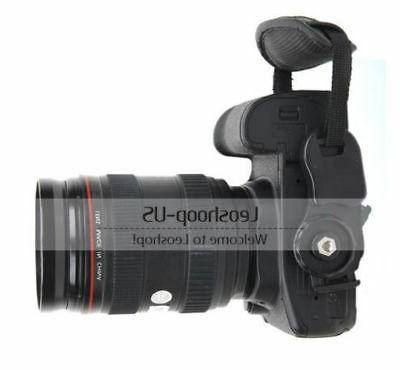 New Camera Leather Strap Hand SLR DSLR Nikon Sony