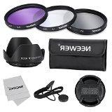 Neewer® 77mm Professional Lens Filter Accessory Kit for Can